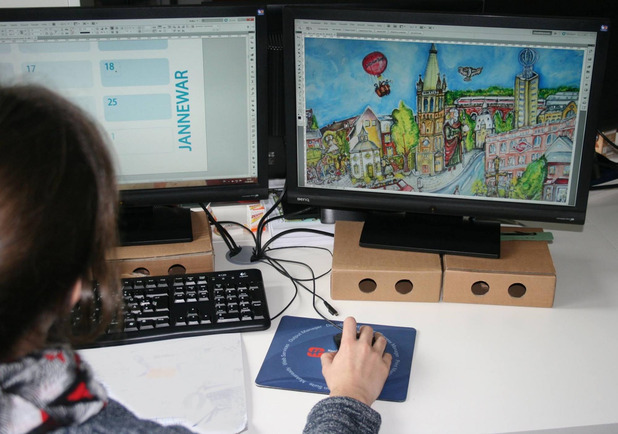 Satz & Layout - Afterglow Werbeagentur Digitaldruckerei